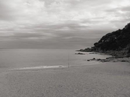 Así dejamos la playa de Llafranc por la tarde