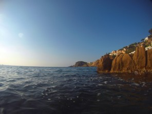 Esto es lo que se ve tras nadar unos pocos metros