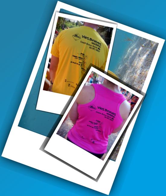 ¡Camisetas para todos! Amarillas para ellos, fucsia para ellas