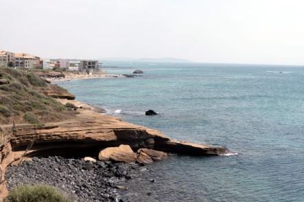 Mirando hacia Sète, desde la Grande Conque