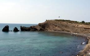 Playa de la Grande Conque, vista desde el lado norte